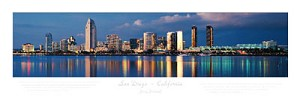 San Diego,California Skyline Picture 1