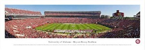 University Of Alabama Bryant-Denny Stadium Picture