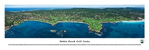 Pebble Beach Golf Links Panoramic Picture 2