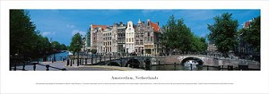 Amsterdam, Netherlands Panoramic Picture