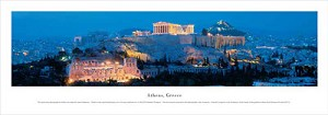 Athens, Greece Panoramic Picture