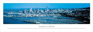 Auckland, New Zealand Panoramic Picture