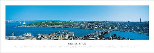 Istanbul, Turkey Panoramic Picture