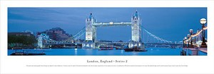 London Tower Bridge, England Panoramic Picture 2
