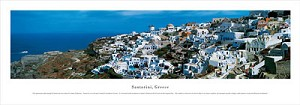 Santorini, Greece Panoramic Picture