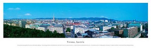 Vienna, Austria Framed Skyline Picture