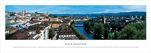 Zurich, Switzerland Panoramic Picture