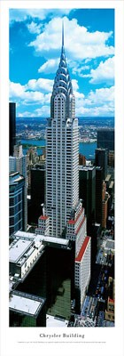 New York, New York Chrysler Building (Daytime) Panoramic Picture