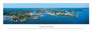 Annapolis, Maryland  Panoramic Picture
