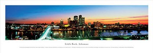 Little Rock, Arkansas Panoramic Picture