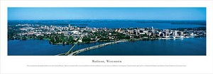 Madison, Wisconsin Panoramic Picture