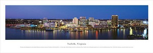 Norfolk, Virginia Panoramic Picture