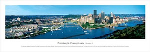 Pittsburgh, Pennsylvania Panoramic Picture 2