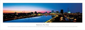 Rochester, New York Panoramic Picture