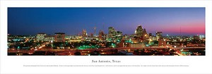 San Antonio, Texas Panoramic Picture