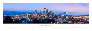 Seattle, Washington Panoramic Picture 2