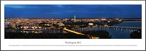 Washington, D.C Framed Skyline Picture 3