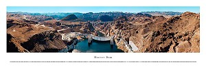 Hoover Dam Aerial Panoramic Skyline Picture 2