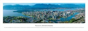 Vancouver, British Columbia 4 Skyline Panorama
