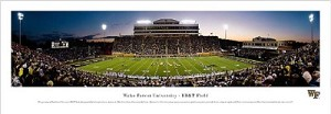 Wake Forest University Stadium Picture