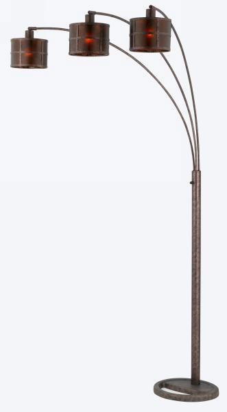 Vellum Lamp Shades Rustic Bronze Floor Lamp Mica