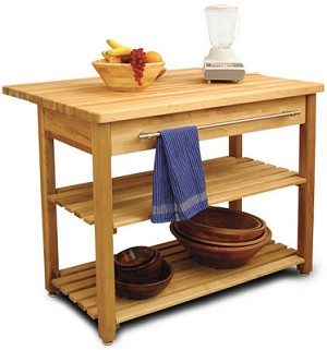 Contemporary Harvest Table 36 Inches Tall