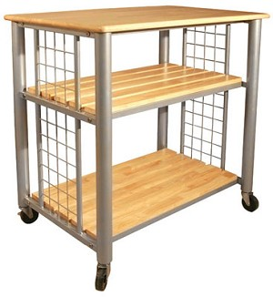 Contemporary Kitchen Cart