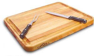 Pro Series 20 Inch Wide Reversible with Groove Cutting Board