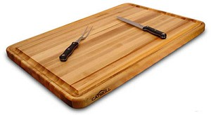 Pro Series 30 Inch Wide Reversible with Groove Cutting Board