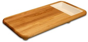 Cut N Catch Over the Sink Carver Cutting Board with Trays
