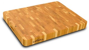 End Grain 19 Inches Wide Butcher Block Cutting Board