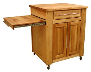 Mini-Empire Butcher Block Kitchen Island