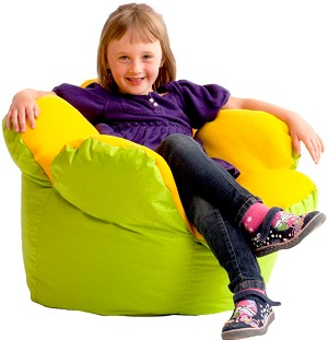 Big Joe Little Flower Bean Bag Chair