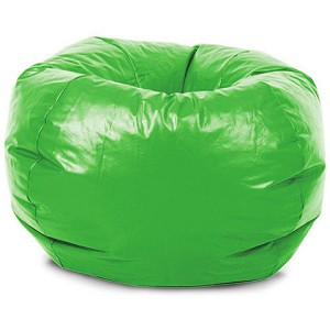 Classic Vinyl Bean Bag Lime
