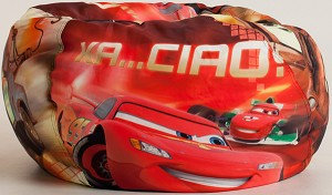Disney Cars 2 Spies Bean Bag