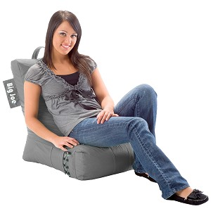 Big Joe Video Lounger Bean Bag Monumental Grey