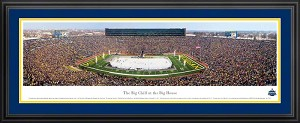 The Big Chill at the Big House Michigan Deluxe Framed Picture