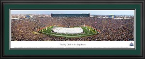 The Big Chill at the Big House Michigan Deluxe Framed Picture 2