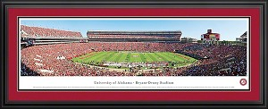 University of Alabama Bryant-Denny Stadium Deluxe Framed Picture