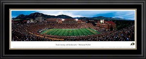 University of Colorado Folsom Field Stadium Deluxe Framed Picture