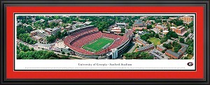 University of Georgia Sanford Stadium Deluxe Framed Picture 1