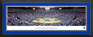 University of Kentucky Rupp Arena Deluxe Framed Picture 2