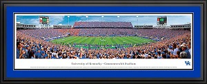 University of Kentucky Commonwealth Stadium Deluxe Framed Picture 1