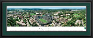 Michigan State University Spartan Stadium Deluxe Framed Picture 1