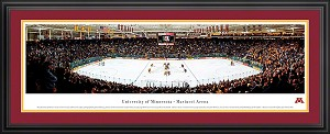 University of Minnesota Mariucci Arena Deluxe Framed Picture 2