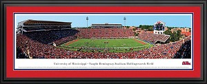University of Mississippi Vaught Hemingway Stadium Deluxe Framed Picture