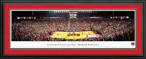 University of Nevada Las Vegas Thomas and Mack Center Deluxe Framed Picture
