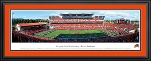 Oregon State University Reser Stadium Deluxe Framed Picture