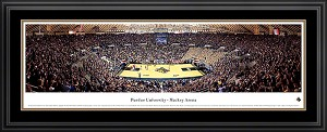 Purdue University Mackey Arena Deluxe Framed Picture 2