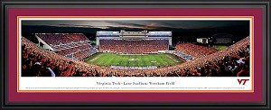 Virginia Tech Lane Stadium Deluxe Framed Picture